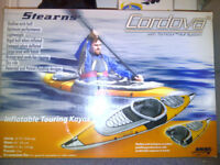Stearns Cordova Pro Inflatable Kayak (Canoe, Dinghy) - Like New, Used Once, Stored Indoors