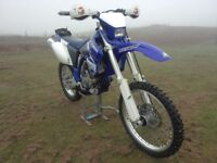 YAMAHA WRF 250,WR-F,2003,CLEAN BIKE,ONE OWNER,ELECTRIC START,NEW MOT,YZF,450,