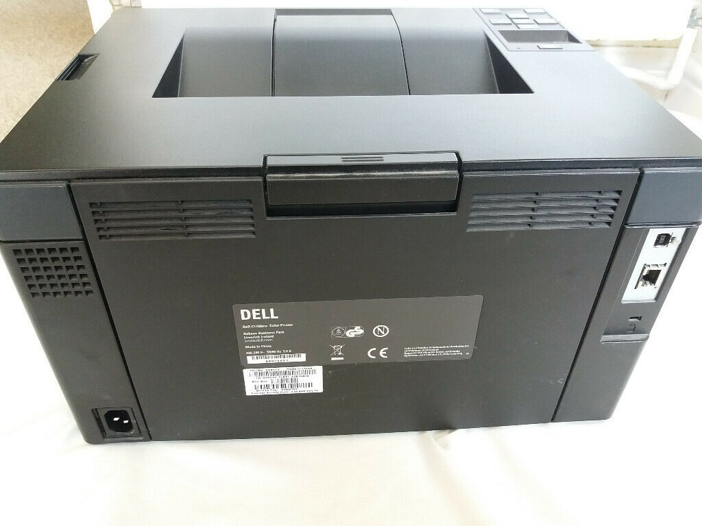 DELL Color Wireless Laser Printer C1760nw Fitted with Compatible Ink  Cartridge | in Leicester, Leicestershire | Gumtree