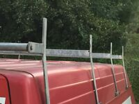 Ford transit roof bars and roller