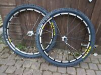 Mavic crossmax 29er mountain bike wheels