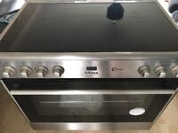 Brand new large oven - 6 ring ring induction - cost 799 warranty not been activated yet