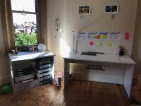 Stylish and Large Corner Desk