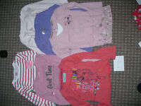 uge Bundle/ Job Lot/ Wardrobe of 24 Girl Clothes for 5-6 years (B)