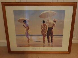 Jack Vettriano - Portland Gallery Beach scene