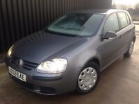 2008 Volkswagen Golf 1.4 S 5dr 2 Keys, 1 Previous Owner, Finance Available May PX