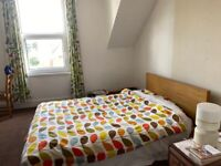IKEA Malm Double Bed and Mattress+Single Bed
