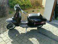 Li150 series 2 200cc scooter
