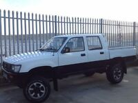 TOYOTA HILUX DOUBLE CAB 4X4 2.5 DIESEL MANUAL WHITE