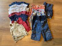 Bundle of clothes. Boy 1.5-2y.
