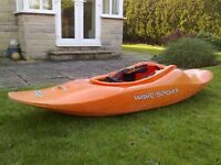 Wavesport EZG 50 Kayak playboat/river runner for sale