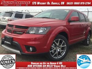 2017 Dodge Journey GT | AWD | DEMO | HEATED LEATHER | NAVIGATION
