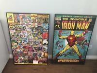 Large Marvel Frames