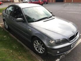 BMW 320d Turbo Diesel Saloon/Hatchback 5 door, 2004 -54 plate, Spares or Repairs Bargain!
