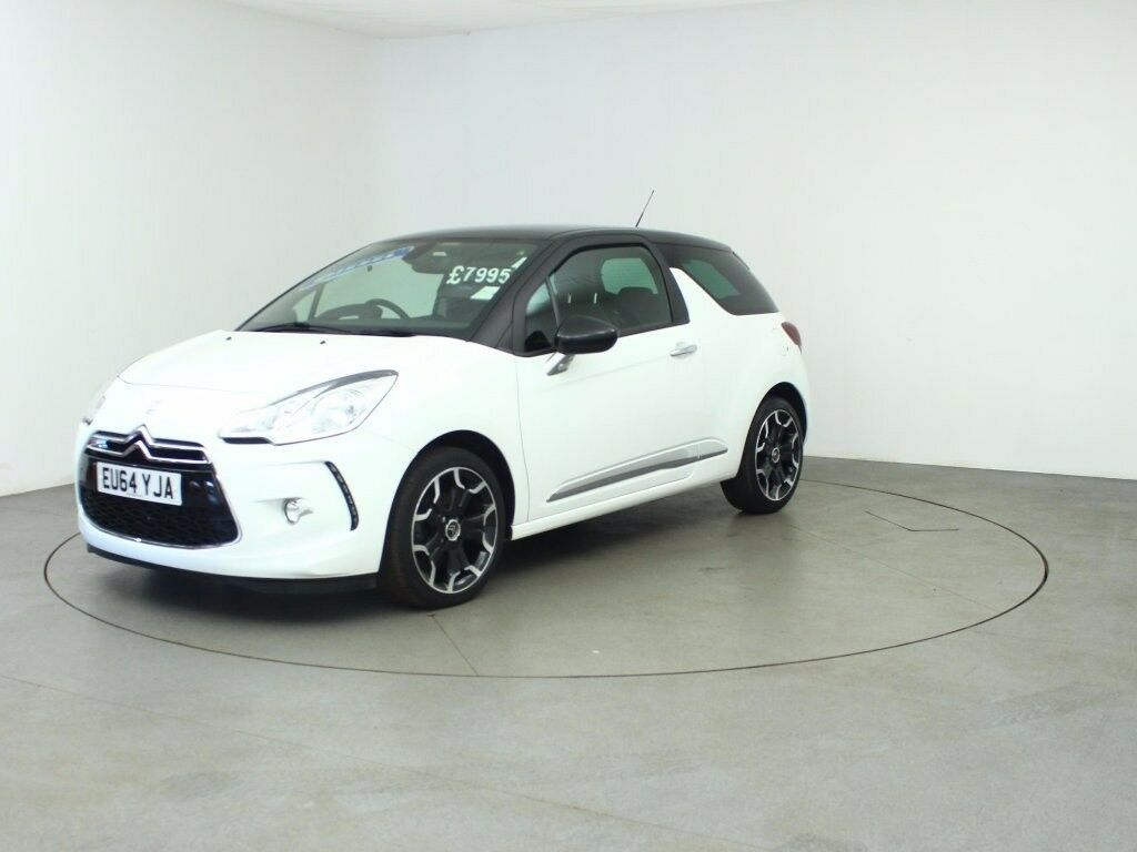 citroen ds3 e hdi dstyle plus white 2014 in blackwood caerphilly gumtree. Black Bedroom Furniture Sets. Home Design Ideas