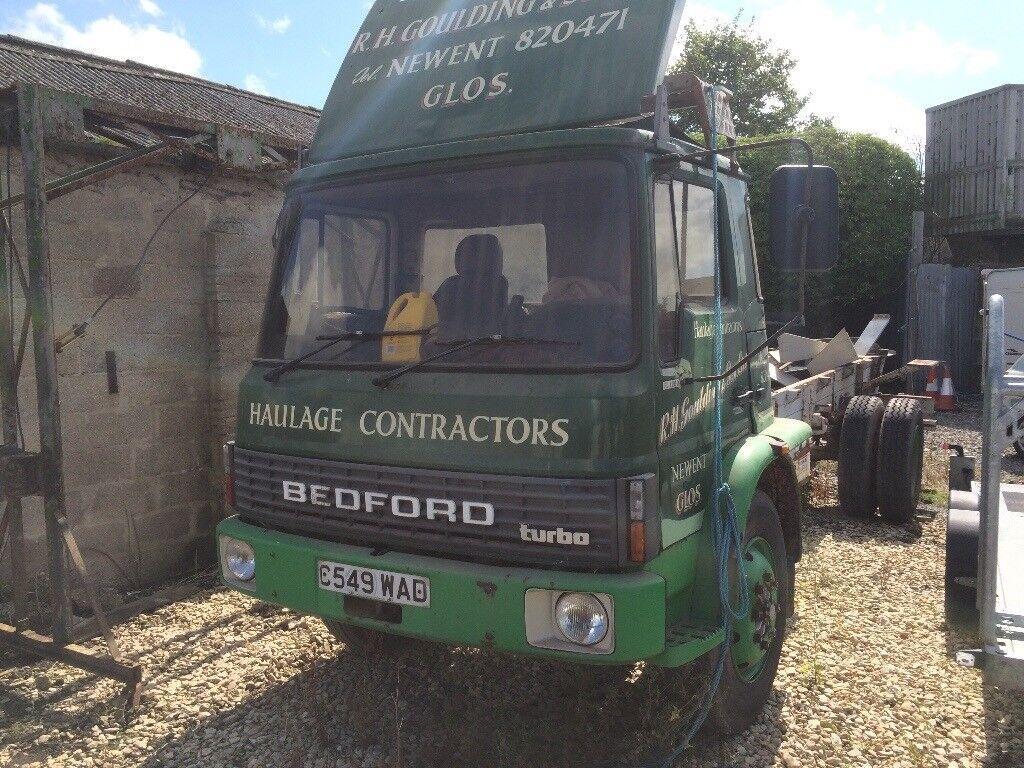 Bedford Tk, requires restoration, starts and runs