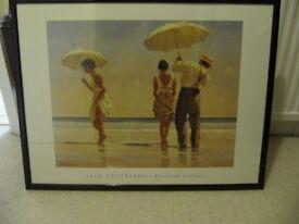 Jack Vettriano framed print.