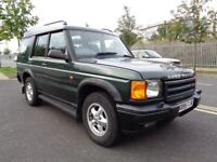 2000 LAND ROVER DISCOVERY 2 AUTOMATIC DIESEL 2.5, FULL LEATHER INTERIOR , TWIN SUNROOF, FSH