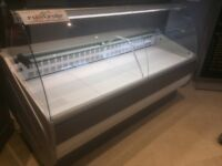2m Refrigerated Serve-Over Display Counter