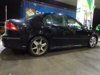 55 reg black top spec 6 speed saab 93 1.9 diesel with long mot taxed with leathers+FREE DELIVERY