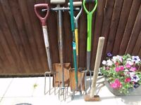 garden tools joblot 10 items all tog