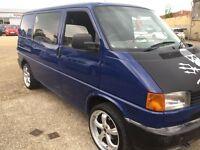 VW Volkswagen T4 Camper Van Transporter –1998 S Reg Blue 1.9 Sea Shepherd Carbon Wrap
