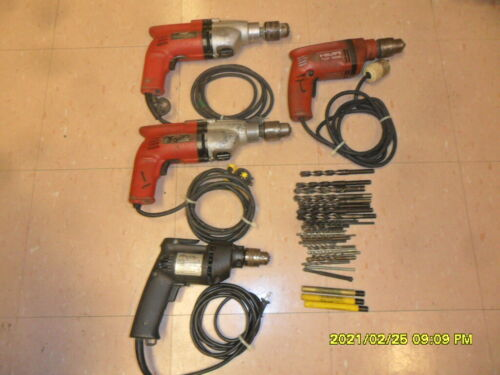 HILTI DRILLS -LOT USED