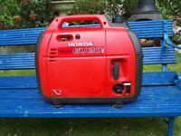 For sale Honda EU2.0i Inverter Generator 2014 model
