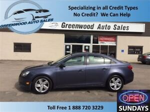 2014 Chevrolet Cruze DIESEL! LEATHER! AUTO! RARE CAR!