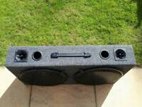 2x400 15inch subwoofer