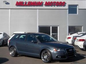 2011 Audi A3 2.0T AWD S-LINE / LEATHER / SUNROOF/ MUST SEE