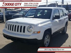 2015 Jeep Patriot Sport 4x4 **PST PAID**