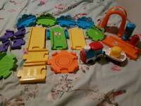 Vtech toot toot train set excellent condition