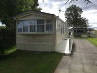 3 Bed Holiday Home for sale Nr Glasgow on Stunning park