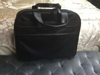 Leather lap top carrying case for sale.good condition