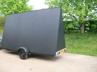 12ft x 8ft Advertising trailer this will get your business seen