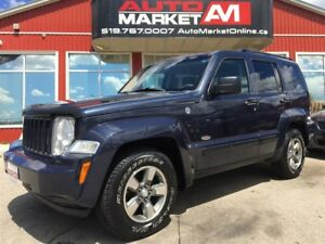 2008 Jeep Liberty Sport, Alloys, 4x4, WE APPROVE ALL CREDIT