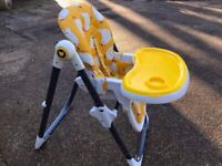 COSATTO NOODLE SUPA HIGH CHAIR in HENHOUSE DESIGN Suitable from 6 Months +