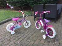 2 x Girls Bikes in good condition