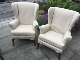 Pair of Parker Knoll PK720 armchairs