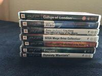 7 PSP games