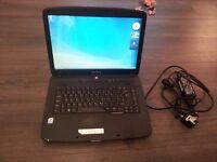 """eMachines E510 - Acer- 15.4"""" - Celeron 560 - 3 GB RAM - 256 GB HDD"""