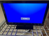 "24"" TV DVD player Technica as New"