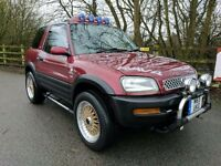 MODIFIED RAV4 - ££££'S SPENT - GREAT TOY - DRIVES A1