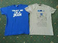 Star Wars R2 D2 Jedi boys t shirts tops lucas film Jedi design grey blue