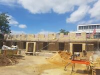bricklayers looking for work 02089031165 brickwork,blockwork,extention,new builds