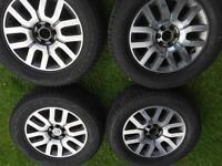 Nissan Navara/Pathfinder D40 outlaw alloy wheels