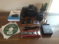Canon 5d Mark iii FULL STARTER KIT - w/ 50mm EF 1.8 lens, 2 x batts, 64GB CF card, strap, more