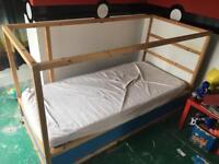 Ikea children's KURA reversible cabin bed