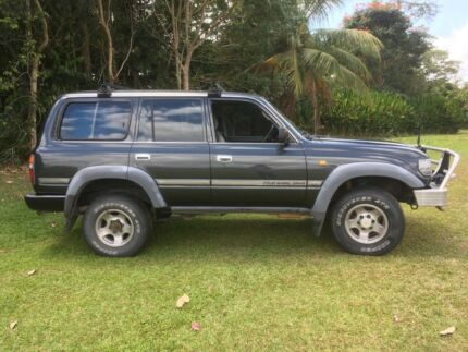 1992 Toyota LandCruiser SUV Tully Cassowary Coast Preview